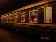 Royal train's carriage