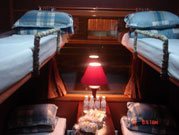 Royal train's berth